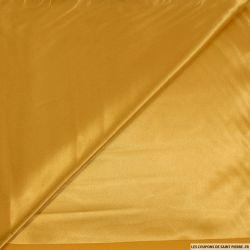 Satin Polyester uni jaune soleil
