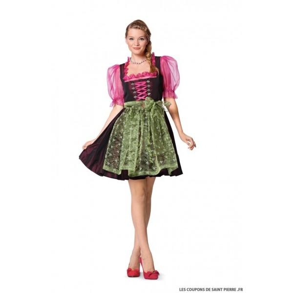 Modèle n°7057 : Robe Folklore