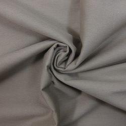 Piqué de coton milleraies uni taupe