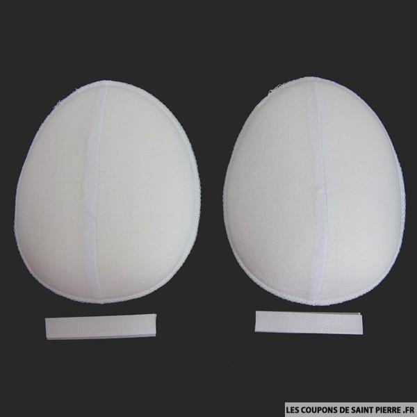 Epaulettes raglans blanches