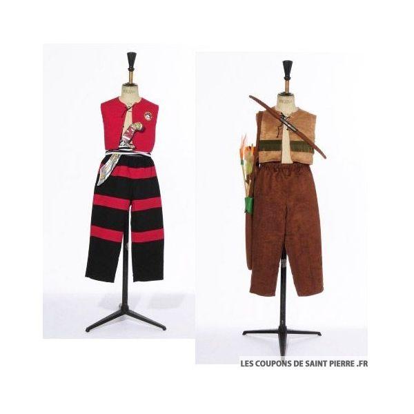 Patron Modes & Travaux - Déguisements Pirate et Robin des Bois
