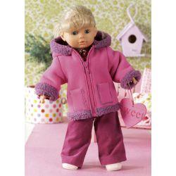 Patron n°7753 : Vêtements de poupées