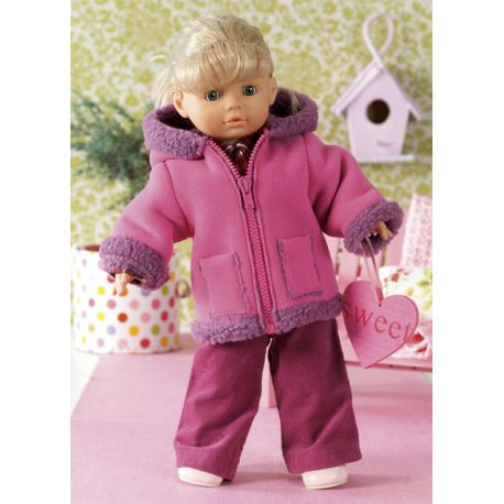 Modèle n°7753 : Vêtements de poupées