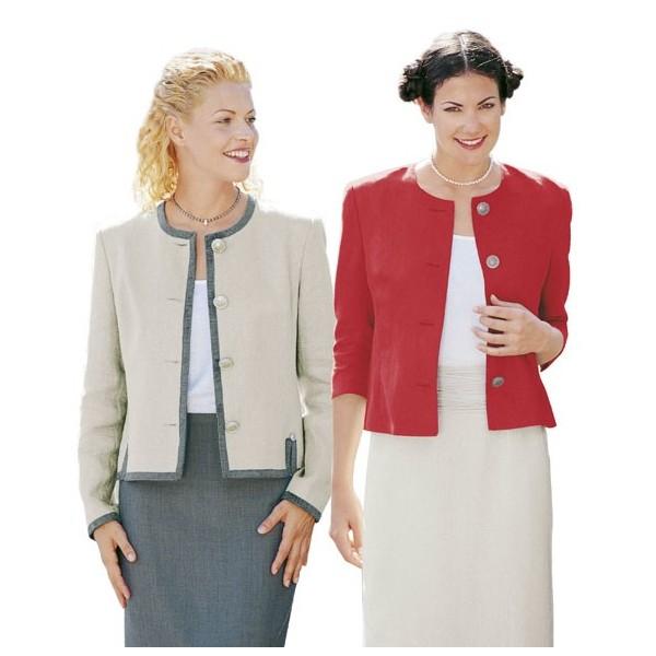 Patron burda veste femme facile