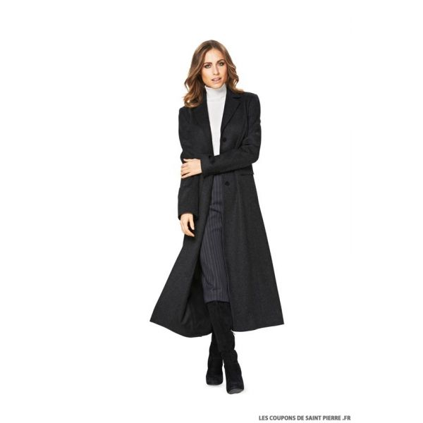 Patron n°6845 : Veste, Manteau long