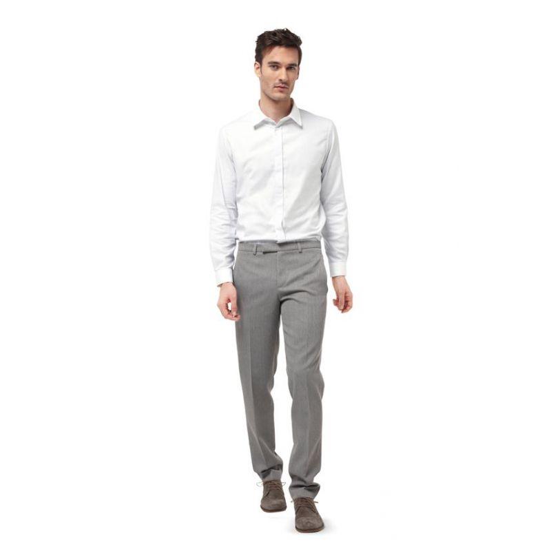 patron n 6874 chemise pour homme avec variantes de col. Black Bedroom Furniture Sets. Home Design Ideas