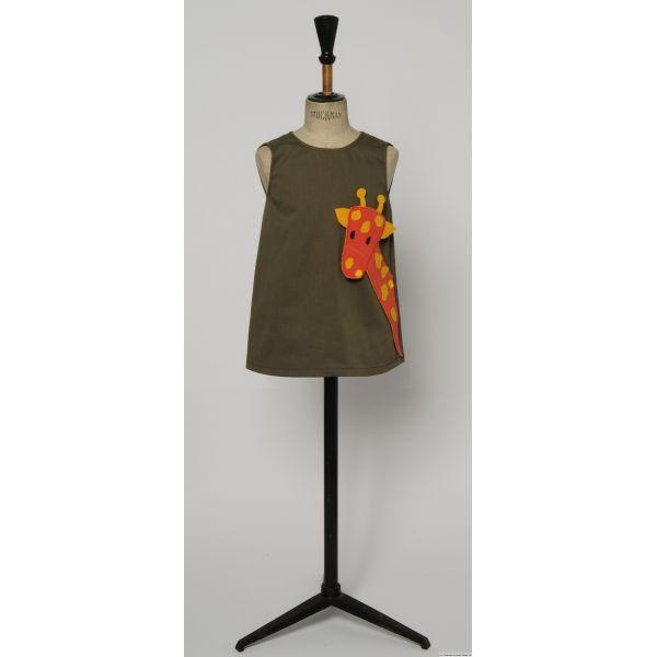 Patron Modes & Travaux - Robe Animaux (patron pour fillette et poupée)