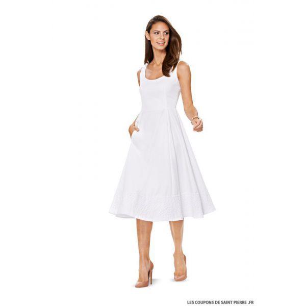 Patron n°6758 : Robe jupe évasée