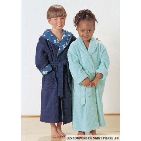 peignoir pour enfant robe de chambre charlie turquoise. Black Bedroom Furniture Sets. Home Design Ideas