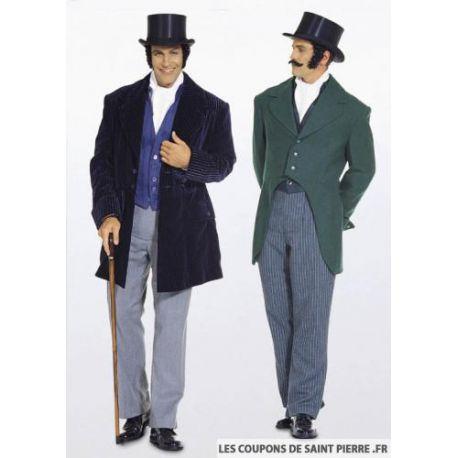 Patron n°2767 : Déguisement Costume des années 1848
