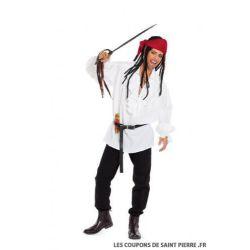 Patron n°7332 : Déguisement Chemise de Pirate