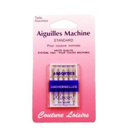 Aiguilles machine universelles assorties X5