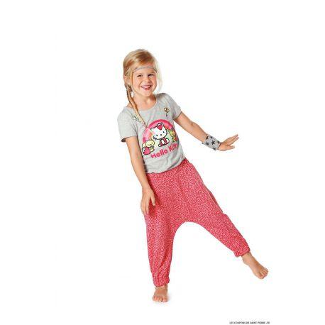 Patron n°9493 : Pantalon pour petite fille