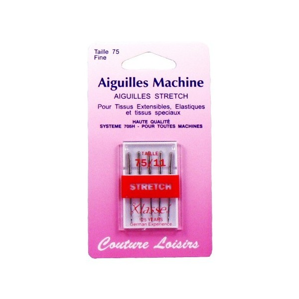 Aiguilles machine stretch X5 - 75/11