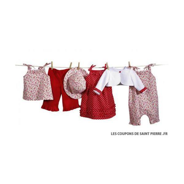 Patron n°9650 : Coordonnés bébé