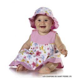 Patron n°9712 : Coordonnés bébé fille