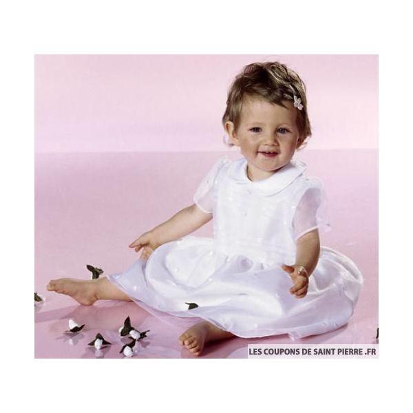 Patron n°9804 : Robe de baptême