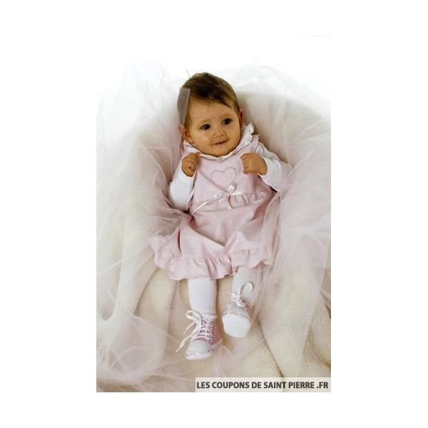 Patron n°9831 : Ensemble bébé fille