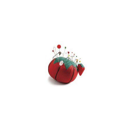 Pelote à épingles (tomate avec affutage)