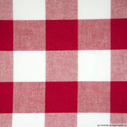 Coton Vichy Rouge 50 mm