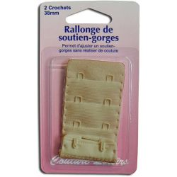 Rallonge de soutiens-gorge - 38 mm - chair