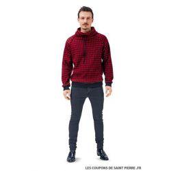 Patron n°6718: Sweatshirt homme