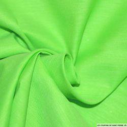 Tissus Chintz Vert fluo