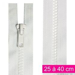 Fermeture injectée n°5 séparable de 25 à 40 cm noir