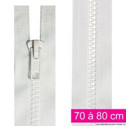 Fermeture injectée n°5 séparable de 25 à 95 cm