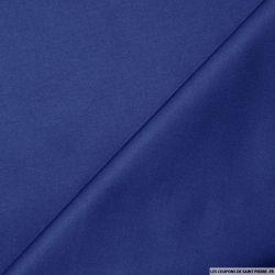 Tissus Satin de Coton Bleu Roy