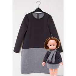 Patron Modes & Travaux - Fillette et Poupée : Robe