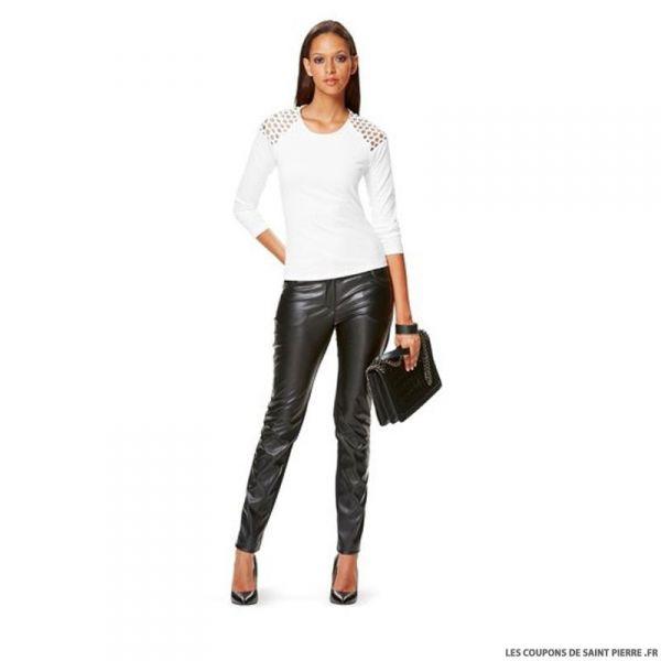 Patron N°6630 Burda : T-shirt manches raglan