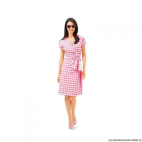 Patron N°6664 Burda : Robe portefeuille  et blouse