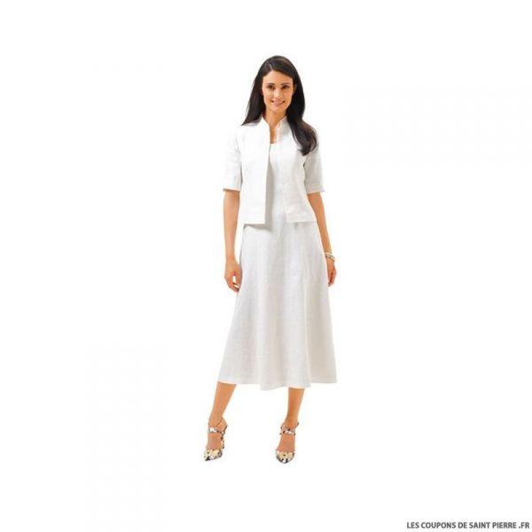 Patron N°6687 Burda : Robe féminine
