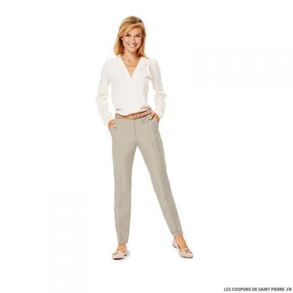 Patron N°6689 Burda : Pantalon