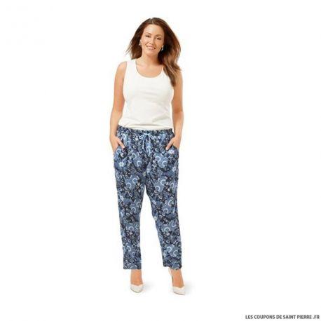 Patron N°6678 Burda: Pantalon décontracté