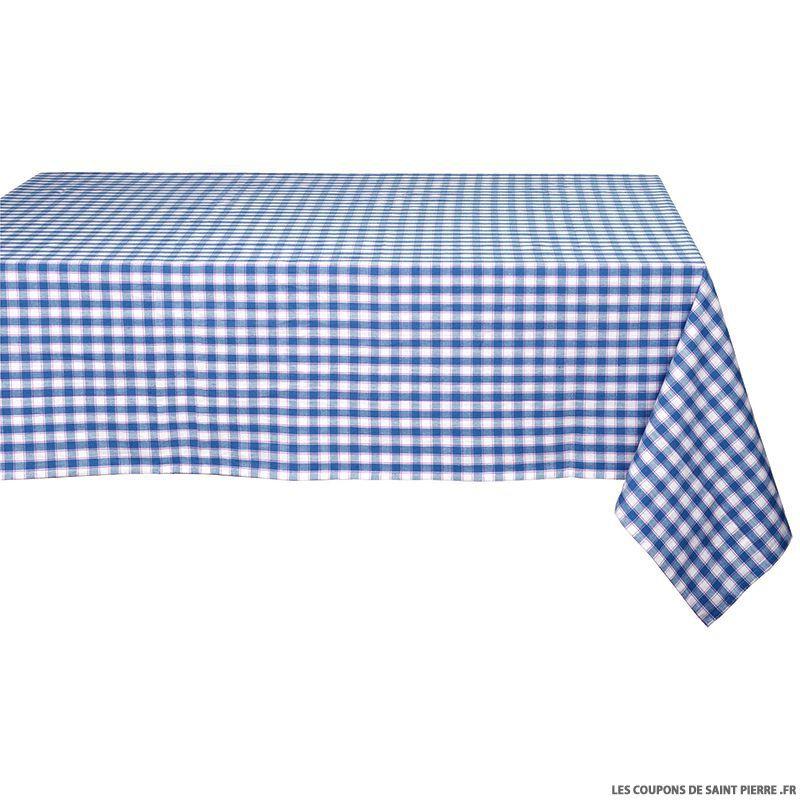 tissu coton vichy 9mm bleu. Black Bedroom Furniture Sets. Home Design Ideas