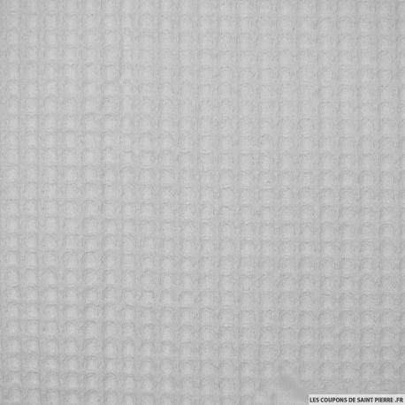 Coton plumetis blanc coupons saint pierre