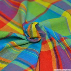 Tissu Coton Madras Carreaux n°2