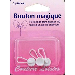 Boutons magiques pour chemise X 3