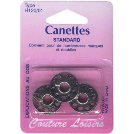 Canettes universelles métal 15 k X3