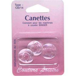 Canettes singer plastique - type 66 X3