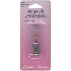 Ampoule 15w / 240 v baionnette longue