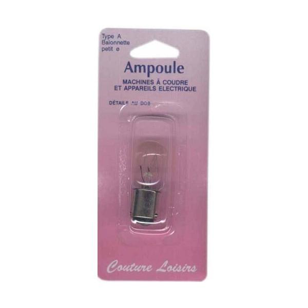 Ampoule 15w / 240 v baionnette courte