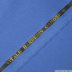 Tissus Super 110 Vitale Barberis bleu roi