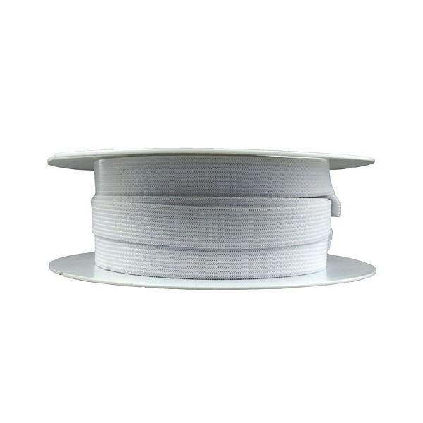 Elastique fronceur blanc - long 20 m