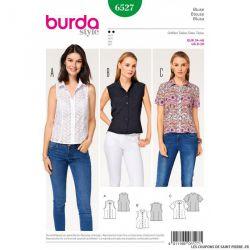 Patron Burda n°6527: Blouse d'été