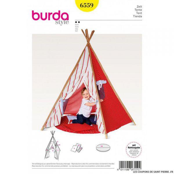 Patron Burda n°6559: Tipi enfant
