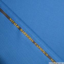 Tissus Super 110 Vitale Barberis bleu canard