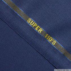 Tissus Super 110 Vitale Barberis bleu marine